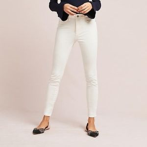 ANTHROPOLOGIE Corduroy High Rise Skinny Jeans